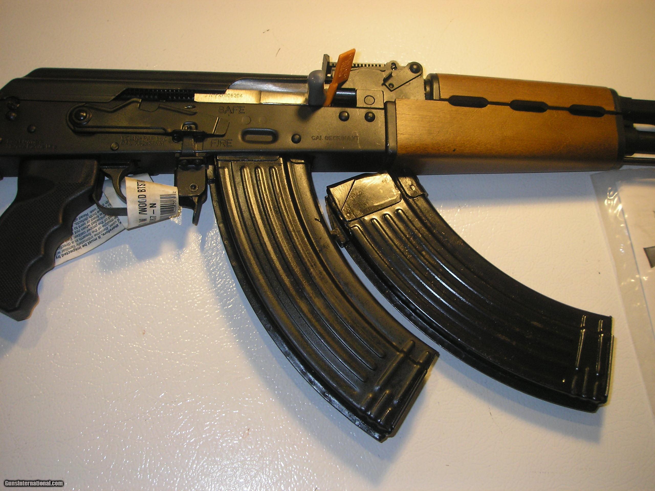 AK-47 CENTURY, N- PAP-M70, 7 62 x 39, 2 - 30 ROUND MAG ONE