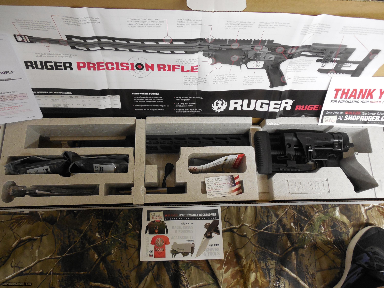 RUGER PRECISION 308 WIN. 2-10-round Magpul PMAG Magazines, ...
