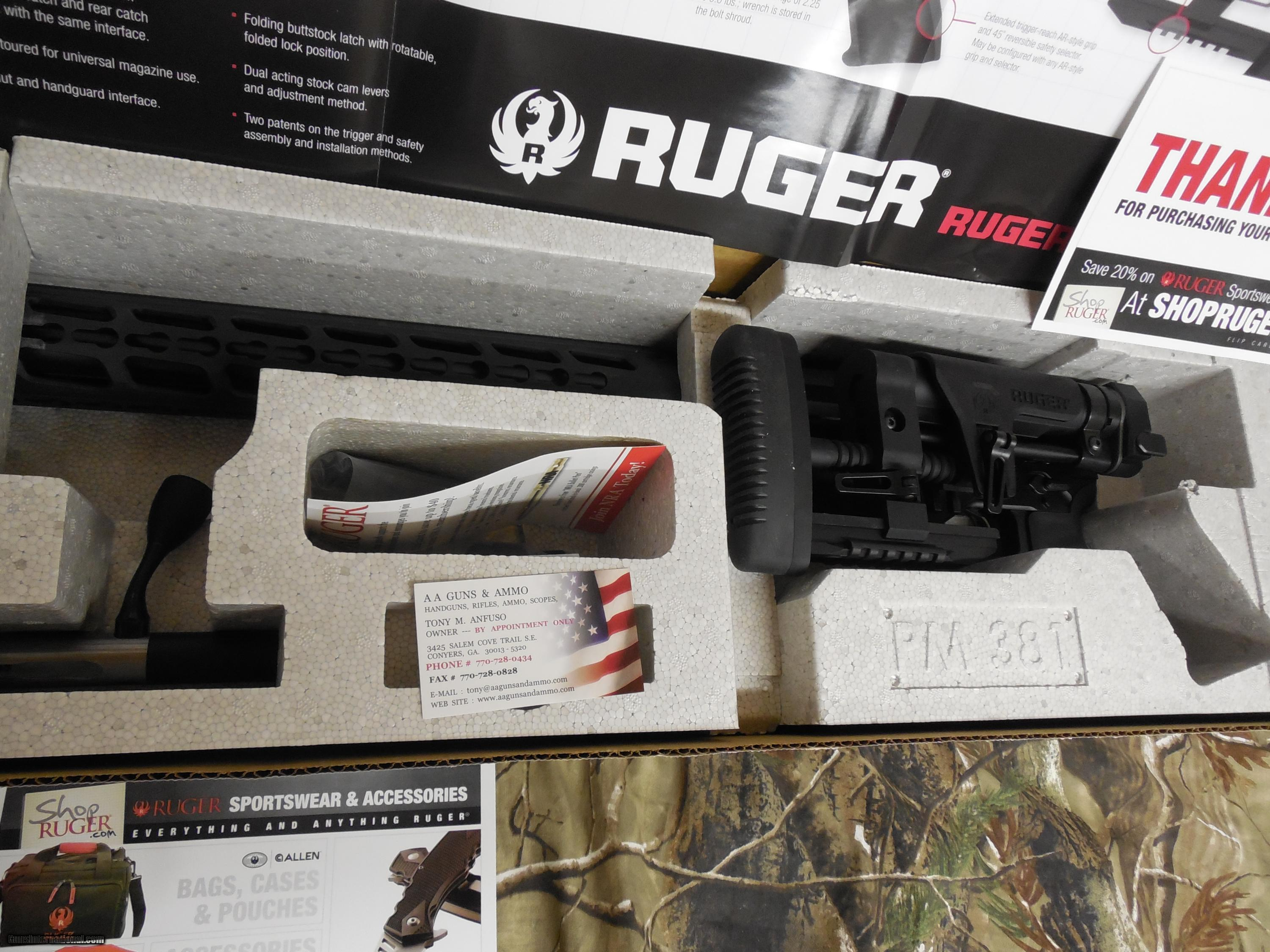 RUGER PRECISION 308 WIN  2-10-round Magpul PMAG Magazines