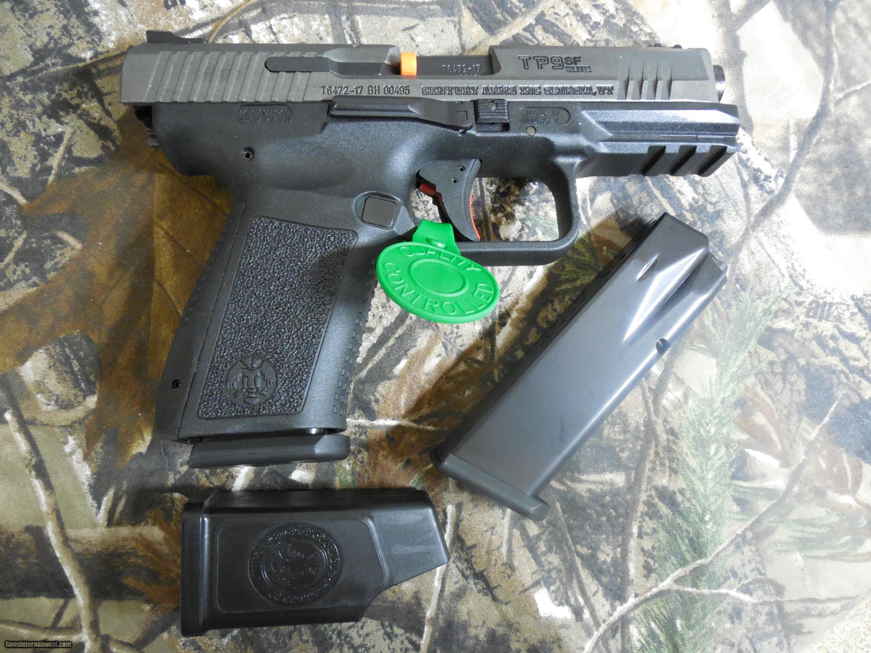 Century Arms Canik TP9-SF Elite Pistol, 9-MM, 2 - 15 ROUND