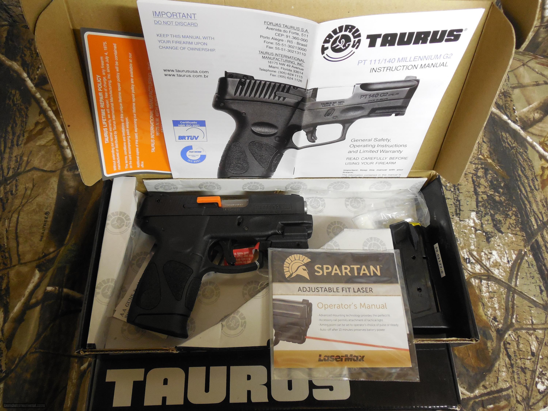 Taurus 111 pro gen 2 millenium with laser 9 m m 32 barrel 2 taurus 111 pro gen 2 millenium with laser 9 m m publicscrutiny Images