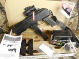 CHARLESDALY AK- 9- MMPISTOL, WITH EXTRAS,USESBERETTA TYPE 92 MAGSORGLOCK MAGS,3 MAGS,REDDOTSCOPE,SLING,FACTORY NEW IN BOX. - 1 of 21