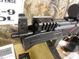 CHARLESDALY AK- 9- MMPISTOL, WITH EXTRAS,USESBERETTA TYPE 92 MAGSORGLOCK MAGS,3 MAGS,REDDOTSCOPE,SLING,FACTORY NEW IN BOX. - 6 of 21