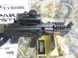 CHARLESDALY AK- 9- MMPISTOL, WITH EXTRAS,USESBERETTA TYPE 92 MAGSORGLOCK MAGS,3 MAGS,REDDOTSCOPE,SLING,FACTORY NEW IN BOX. - 9 of 21