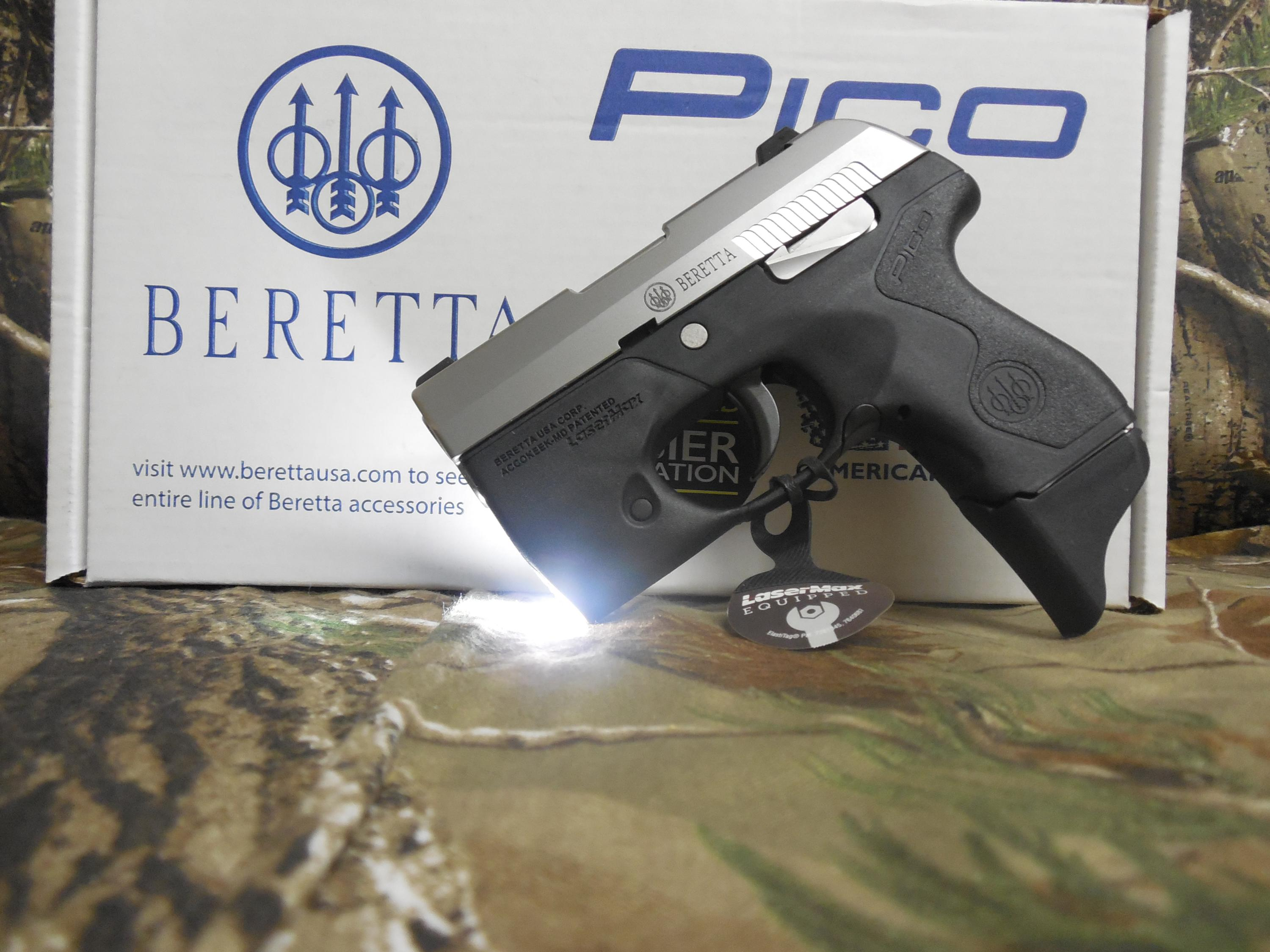 BERETTA PICO WITH LIGHT, 380 A C P , TWO MAGAZINES, CARRING