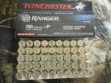 WINCHESTER38SPECIAL+ P,130GRAIN,BONDEDJACKETEDHOLLOWPOINT,950F. P. S.50ROUNDBOXES - 8 of 18