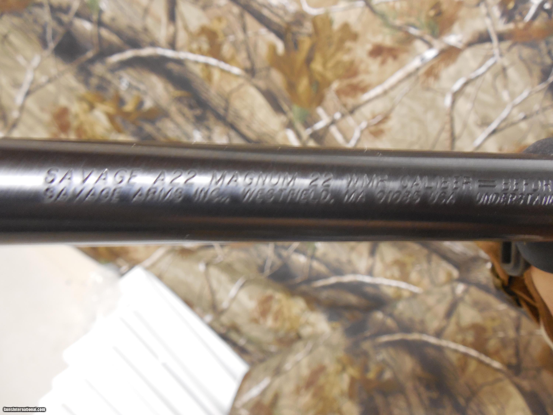 savage a22 magnum 10 1 round 22 magnum semi automatic bushell