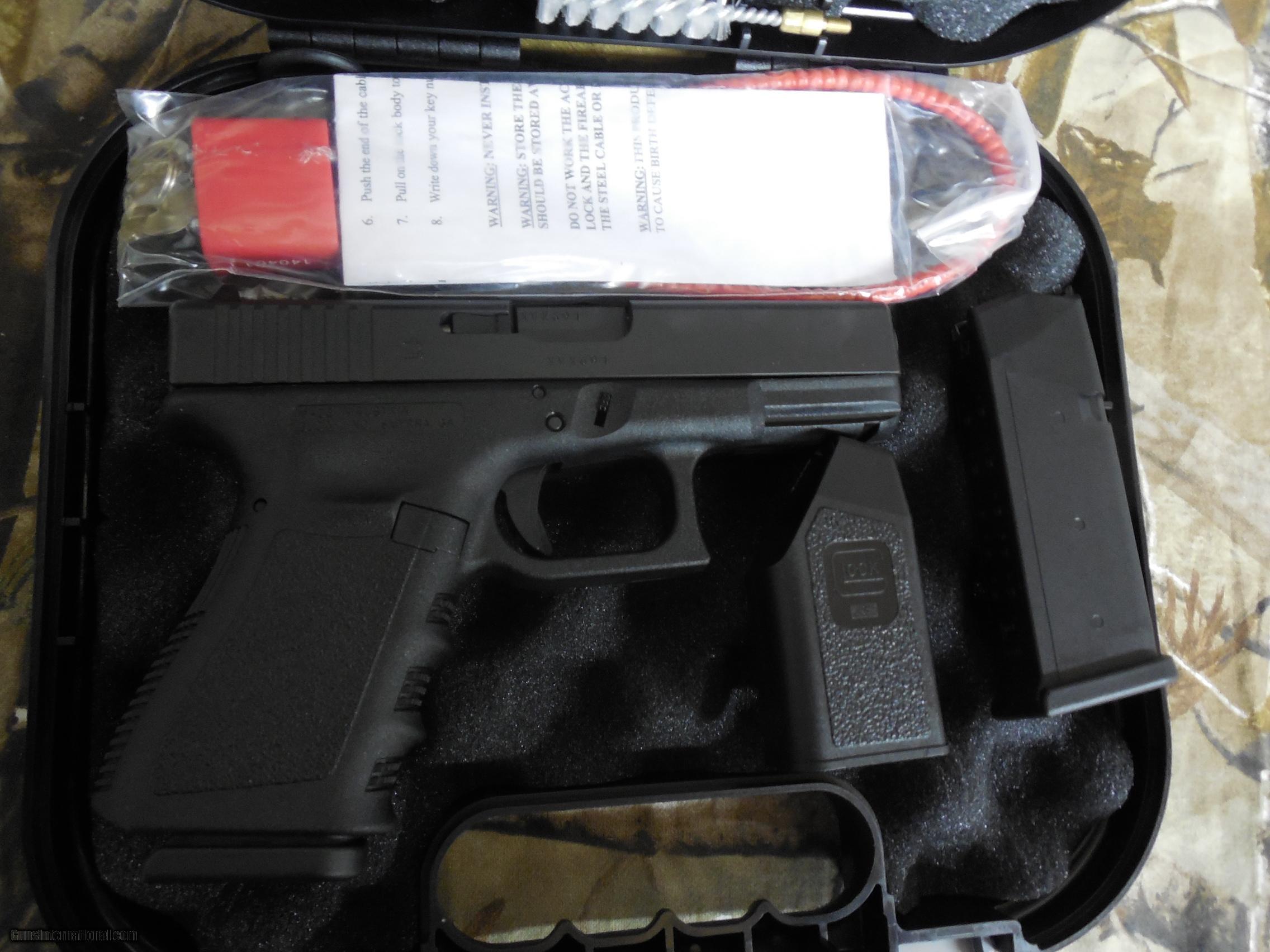 Glock g 32 357 sig gen 3 13 1 round mag two magazines 40 glock g 32 357 sig gen 3 publicscrutiny Images