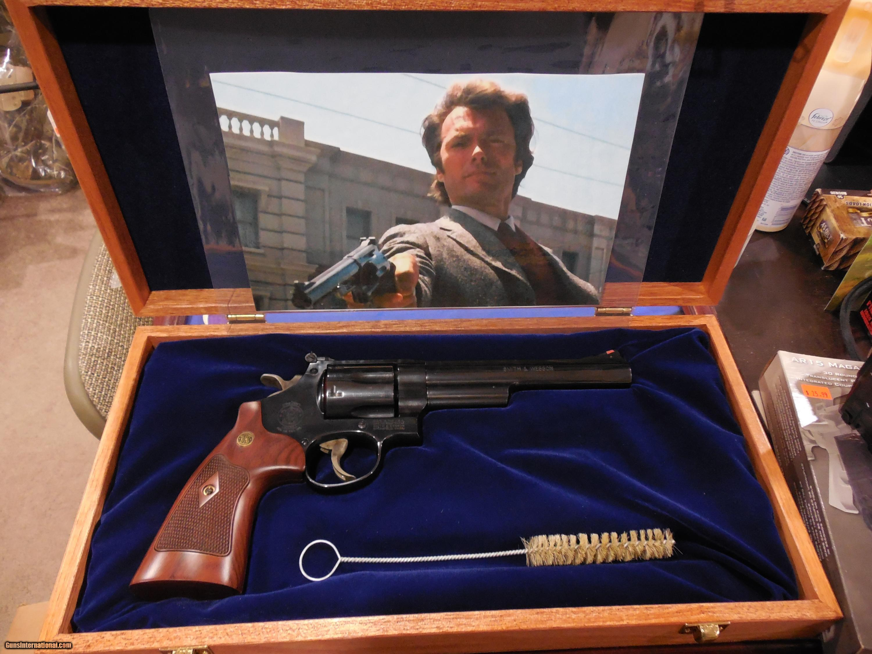 smith wesson dirty harry modle 29 10 44 magnum cocobolo wood