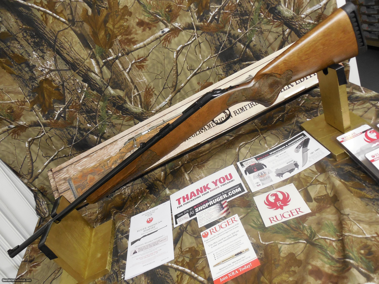 RUGER AMERICAN, #08345  22-WMR, 9-SHOT  BOLT ACTION