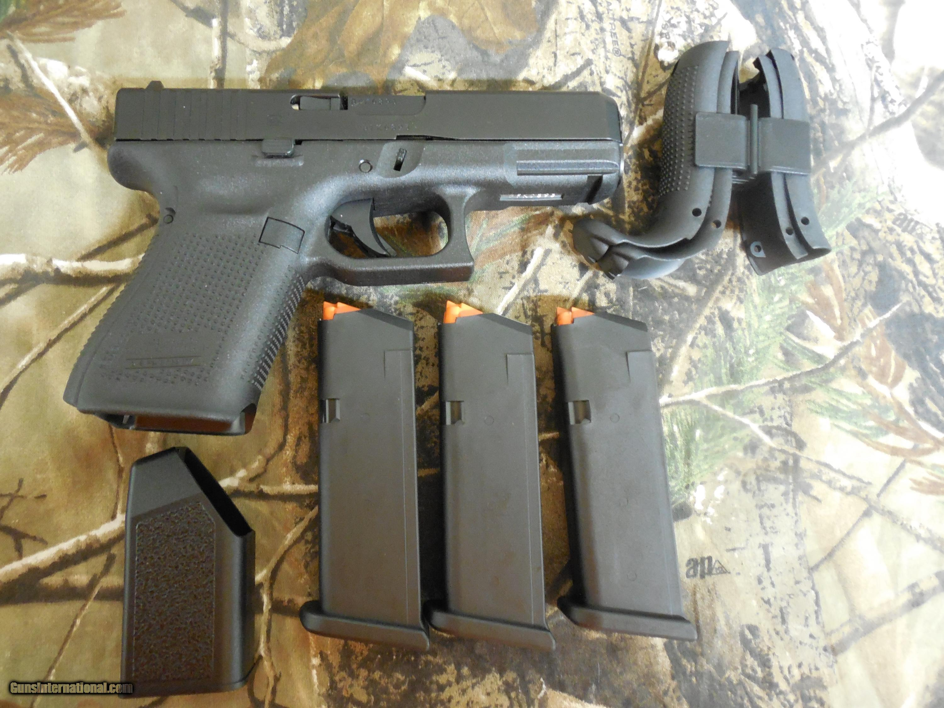 GLOCK GEN - 5, G-19, THE NEW GENERATION JUST OUT  9-MM, 3 - 15 ROUND