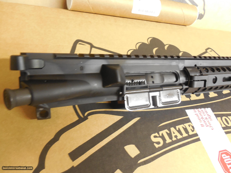 AR-15 COMPLETE PISTOL UPPER, 7
