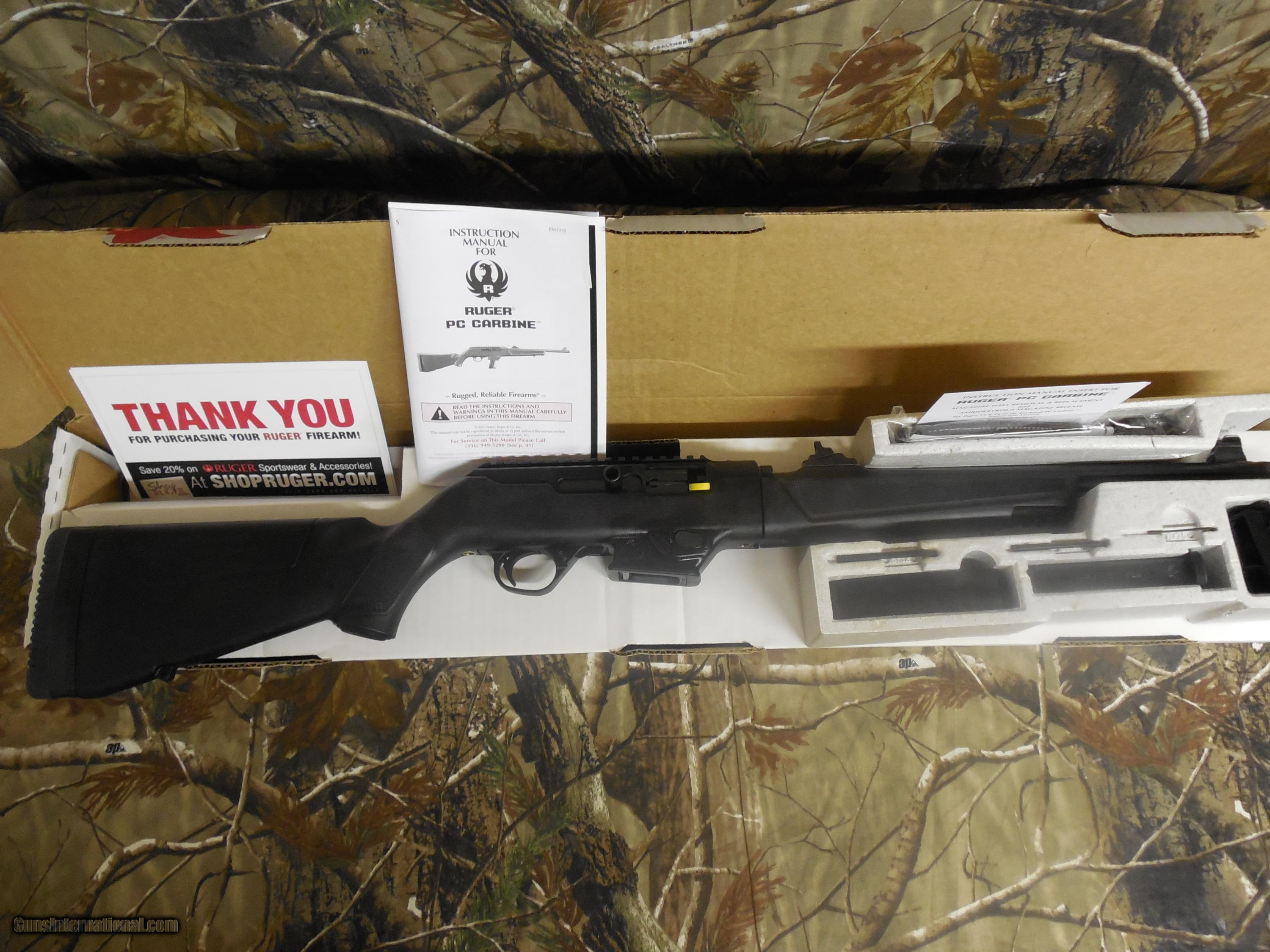 RUGER TACTICAL Model PC 9-MM CARBINE, features