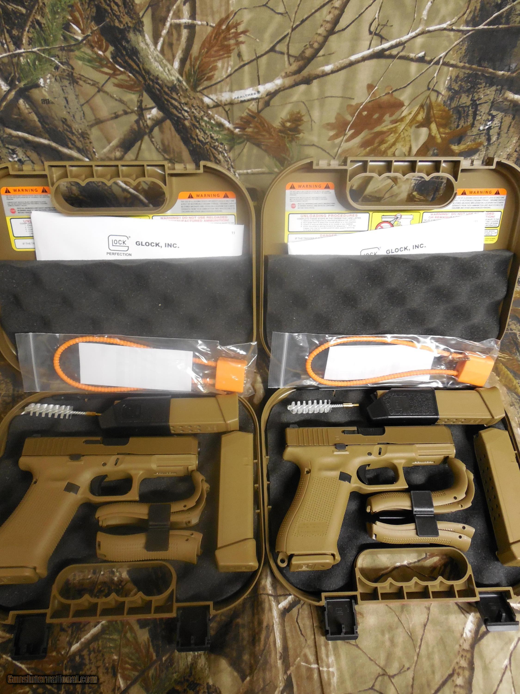 Glock g 19x gen 5 tan 9 mm 3 magazines 2 19 rd mags 1 17 rd glock g 19x gen 5 tan 9 mm 3 magazines publicscrutiny Images