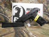 RUGERSECURITY - 9#03810,9 - MM,TWO - 15ROUNDMAGAZINES,WHITHOUTLINESIGHTS, - 13 of 20