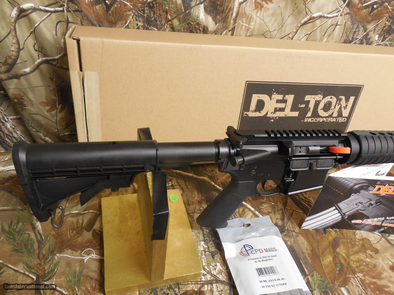 AR-15, DEL-TON ECHO 316L, OPTICS READY, 5 56-M M, 16