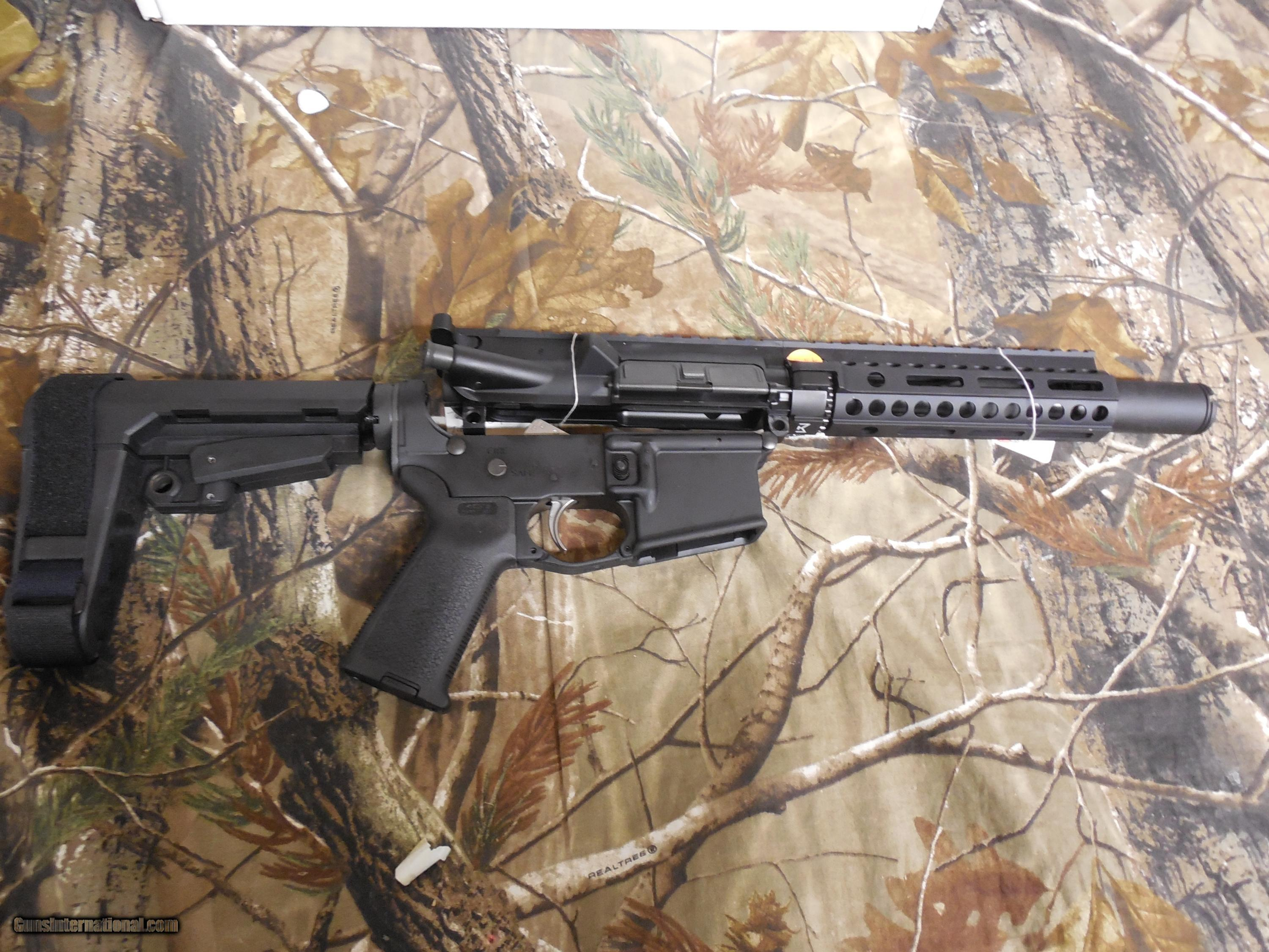 AR-15 P S A  COMPLETE MOR EPT PISTOL LOWER WITH ADJUSTABLE