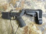 AR-15P.S.A.COMPLETEMOREPTPISTOLLOWERWITHADJUSTABLEBRACE,ANDYESITISLEGAL(NEWITEM)*****ATFAPPROVED***** - 5 of 22