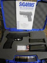 SIG SAUERP-226, STAINLESS, 40 S&W, 3-12 ROUND MAGAZINES, NIGHT SIGHTS, PRE OWNED, IN VERY GOOD CONDITION, WITH ORIGIAEL MANUL & CASE.