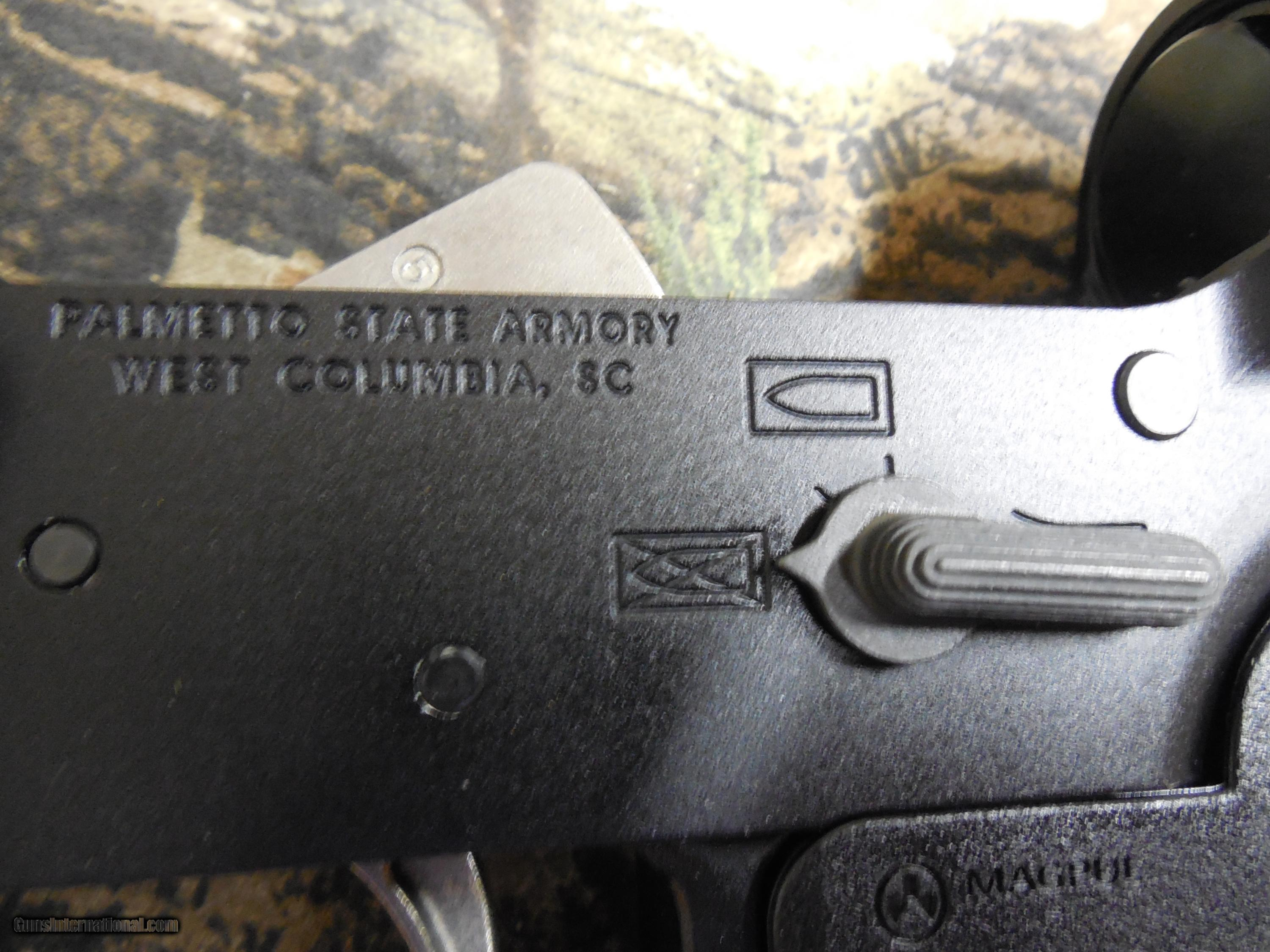 AR-15 PA-X9, P S A  COMPLETE LOWER IN 9-MM, USES GLOCK MAGAZINES