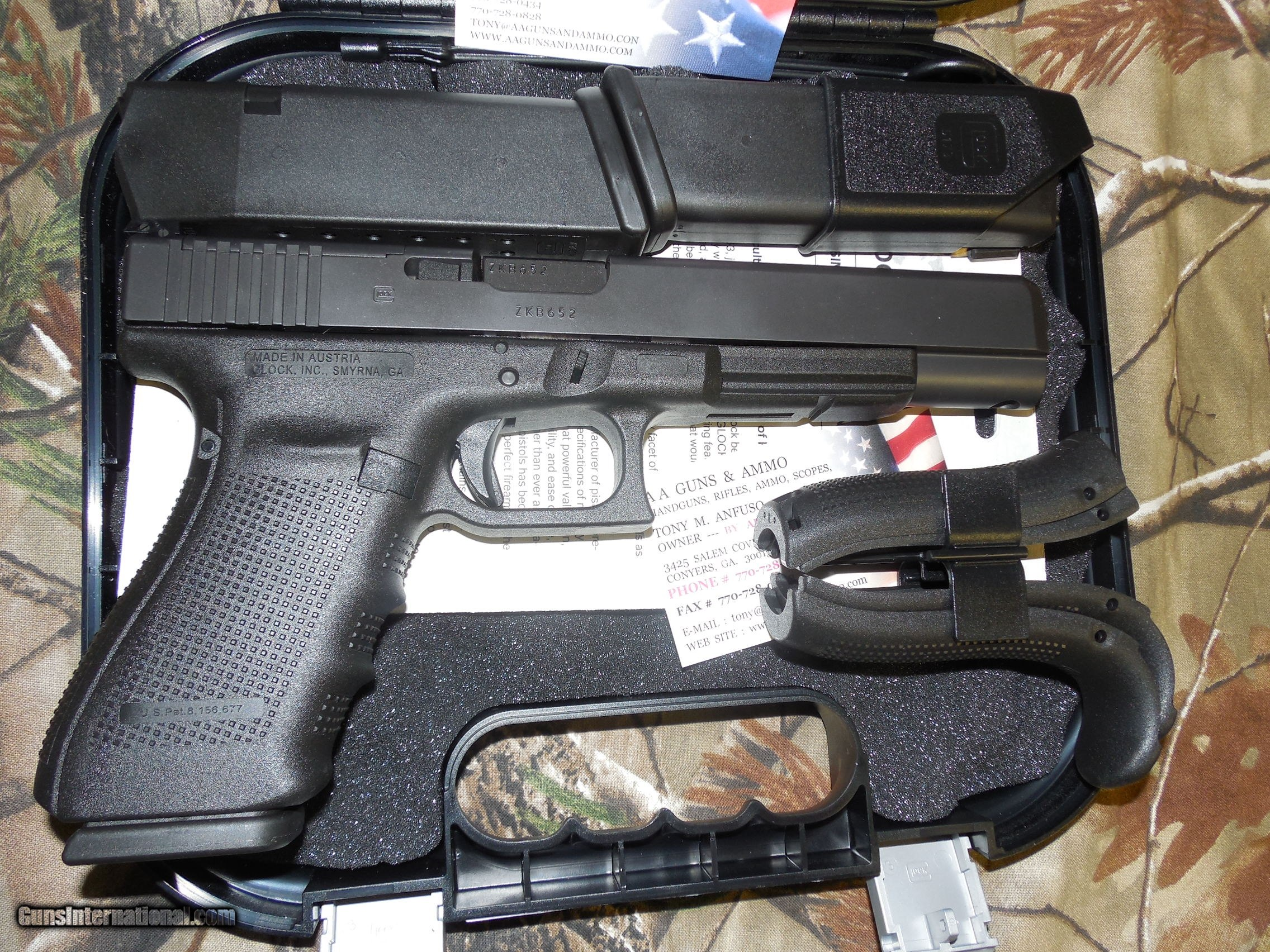 GLOCK G-40 M O S  GEN - 4, READY FOR OPTIC SIGHTS, 10 - MM, HUNTER