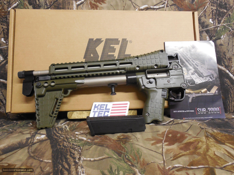 Kel-tec sub-2000, the mousegunner's carbine.