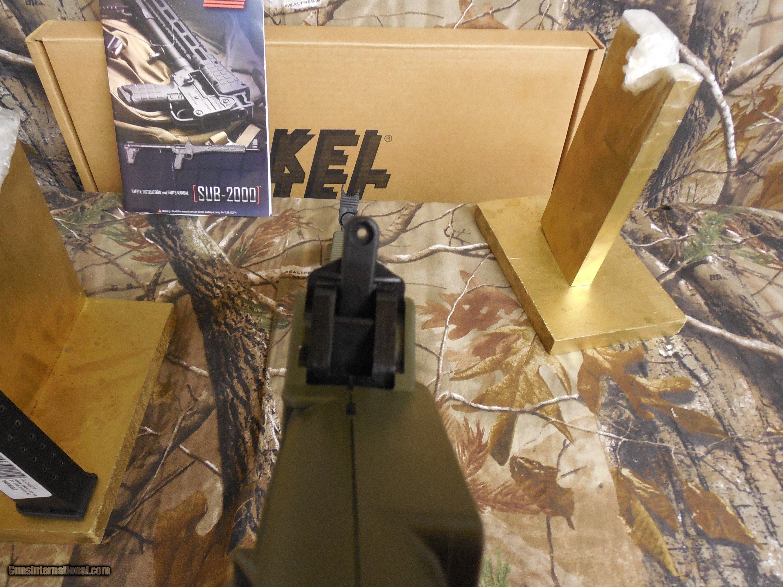 Kel Tec Sub 2k G 22 Nickel Boron 40 Sw Semi Automatic 161 Marlin 60 Parts Diagram