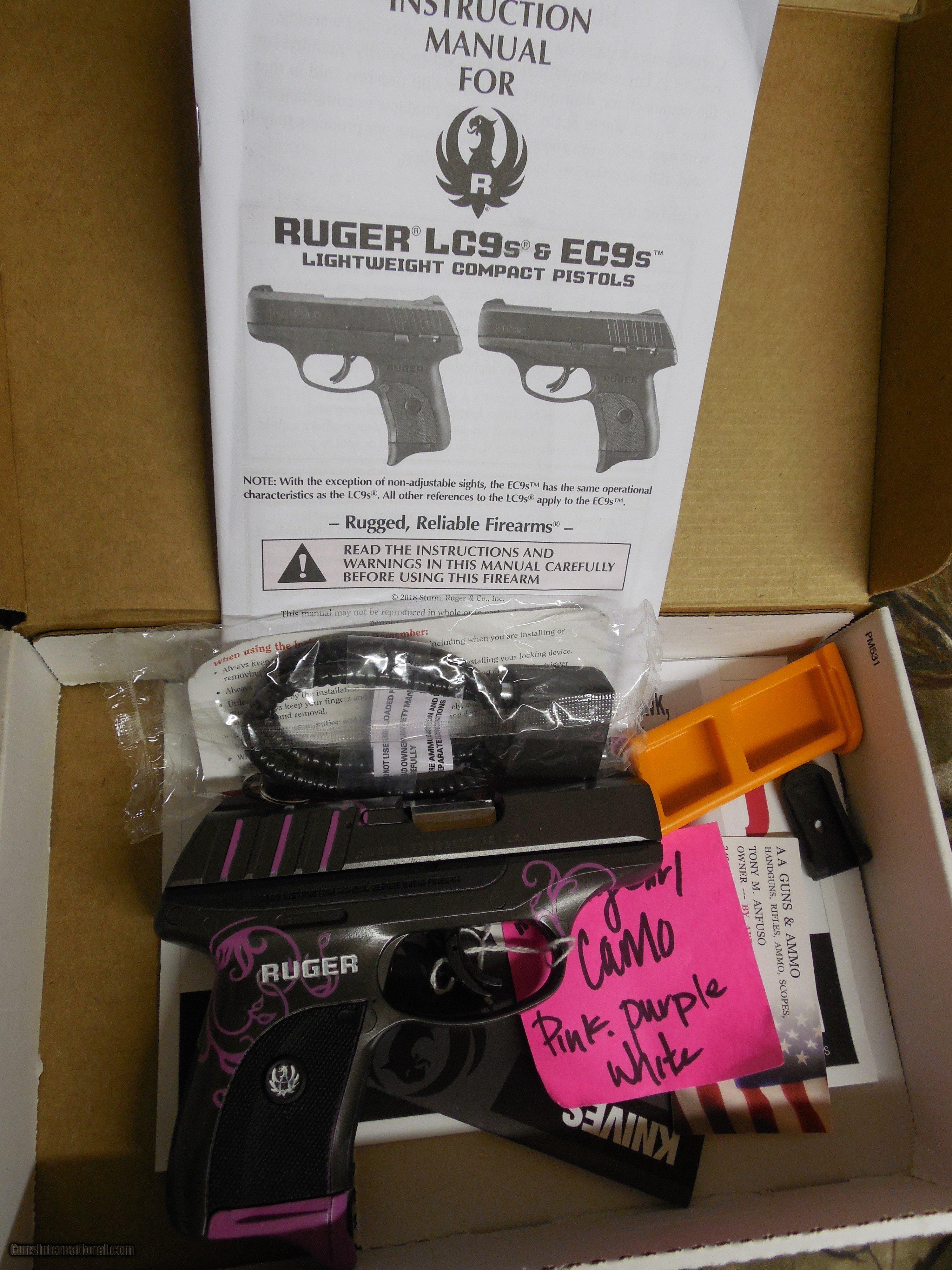 Ruger Ec9s Sights