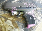 """RUGEREC9s, CUSTOMMUDDY GIRL,9-MM,7 + 1 ROUND,3.12 """"Is Slim, lightweight and compact for personal protection,FACTORYNEWINBOX - 9 of 25"""