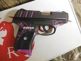 """RUGEREC9s, CUSTOMMUDDY GIRL,9-MM,7 + 1 ROUND,3.12 """"Is Slim, lightweight and compact for personal protection,FACTORYNEWINBOX - 2 of 25"""