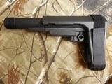 AR-15 PISTOLSTABILIZINGBRACE,ADJUSTABLE,SB,TACTICALBRACE,SBA3,BLACK,INCLUDESMIL-SPEC,BUFFER TUBE , FORAR's,FACTORYNEW - 6 of 16