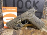GLOCKG-21 GEN-4, PRE OWNED, NEW CUSTOM CERAKOTING CAMOAS CLOSE TO NEW AS YOU CAN GET, 3-13 RD. MAGS,NIGHT SIGHTS,WITHORIGINALPAPER , CASE, - 10 of 22