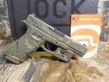 GLOCKG-21 GEN-4, PRE OWNED, NEW CUSTOM CERAKOTING CAMOAS CLOSE TO NEW AS YOU CAN GET, 3-13 RD. MAGS,NIGHT SIGHTS,WITHORIGINALPAPER , CASE, - 7 of 22