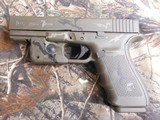 GLOCKG-21 GEN-4, PRE OWNED, NEW CUSTOM CERAKOTING CAMOAS CLOSE TO NEW AS YOU CAN GET, 3-13 RD. MAGS,NIGHT SIGHTS,WITHORIGINALPAPER , CASE, - 4 of 22