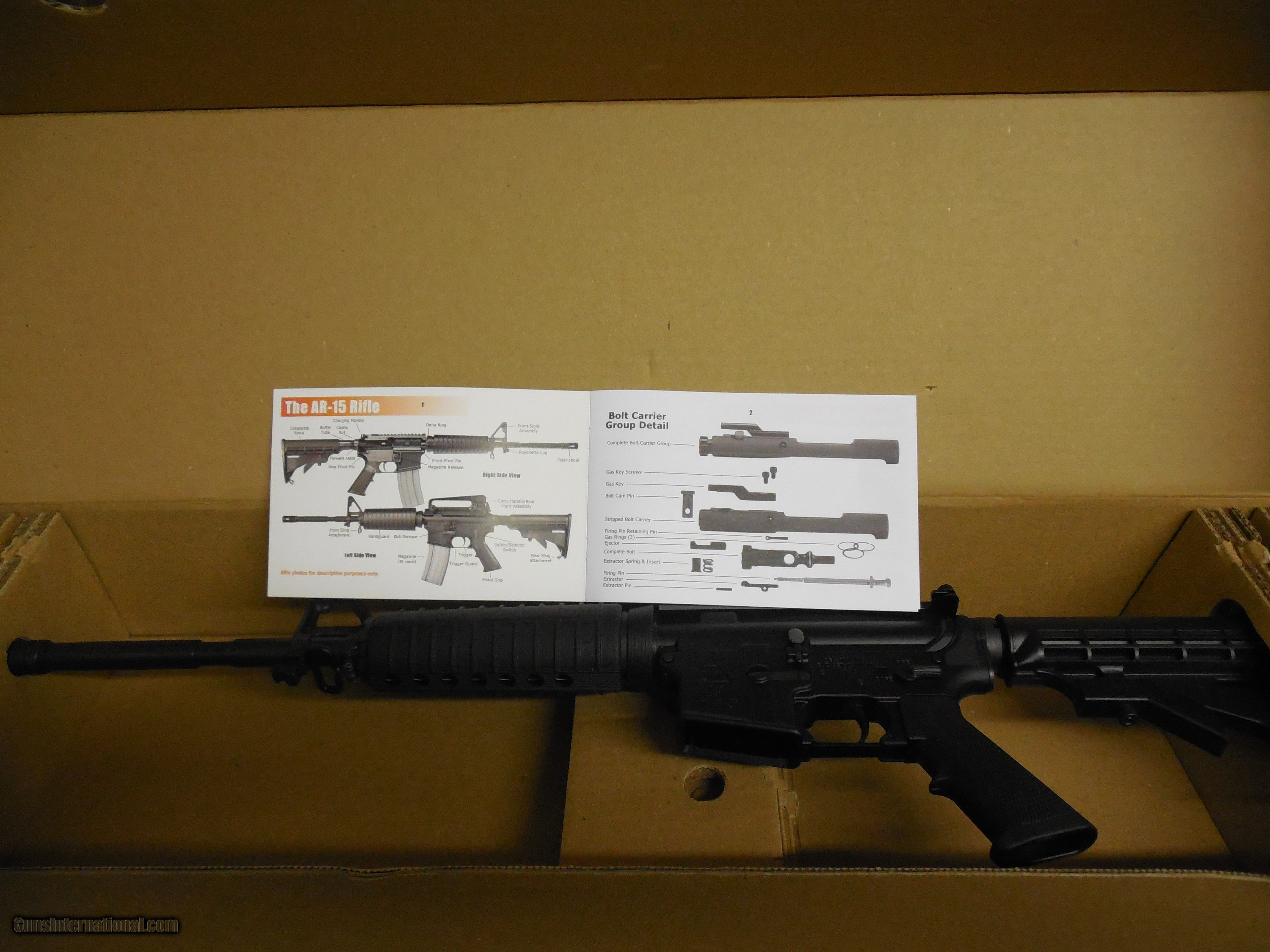 Ar 15 Delton 316 A3 Carbine 16 Barrel 5 56 Nato 30 1 Round Magazine Boyonet Lug 5 Position Stock Have Two With Consecuitve Numbers