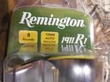 REMINGTON1911 R1HUNTER, BLACKSTAINLESSSTEEL, 10-MM,6