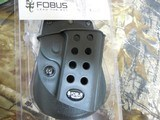 FOBUSPADDLE1911ALLSTYLEHOLSTER,( WITH OR WITHOUT RAIL ),RIGHTHANDHOLSTER,BLACK.FACTORYNEW !!! - 4 of 14