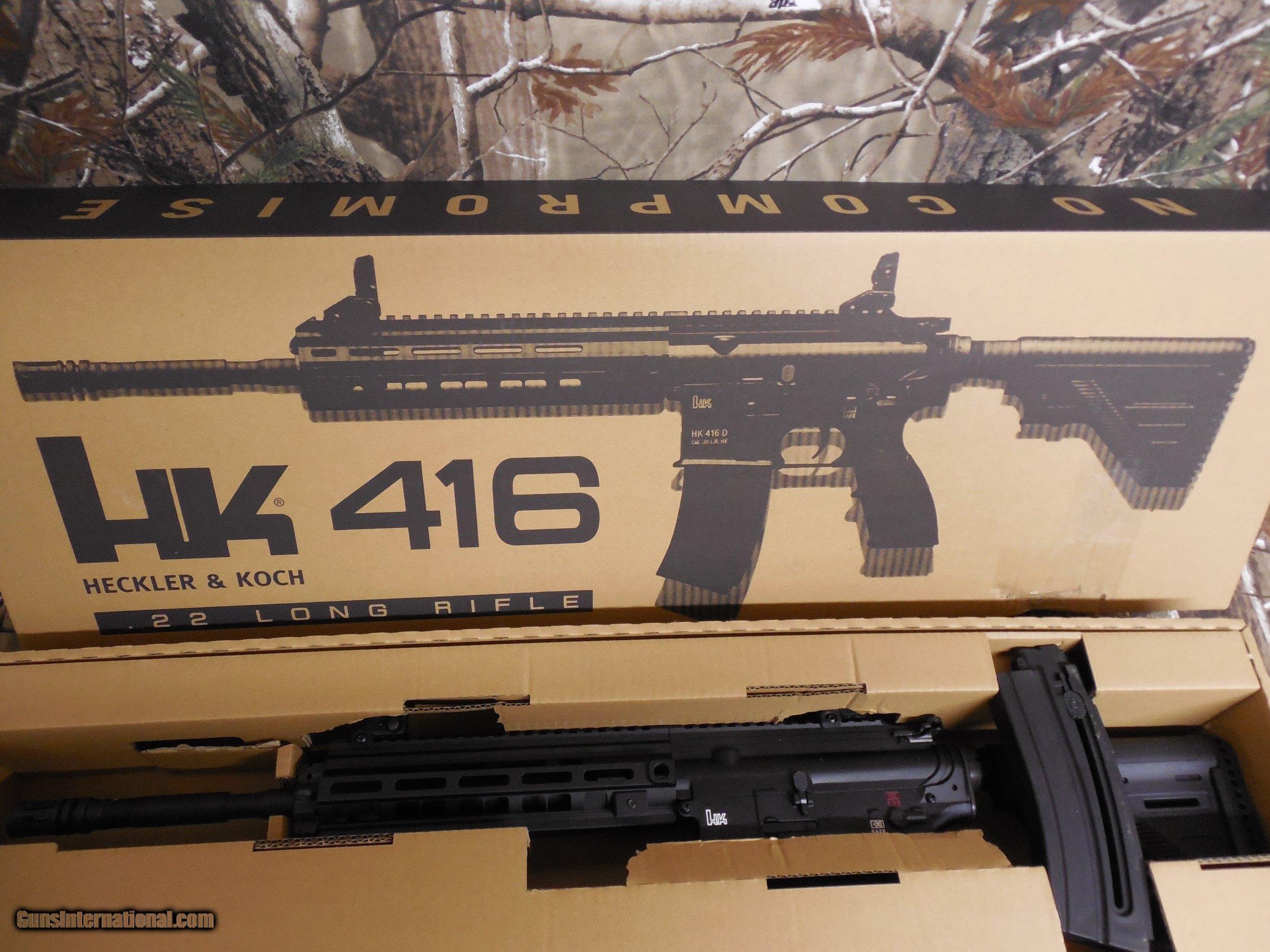 HECKLER & KOCH, HK416, 22 L R  16 1