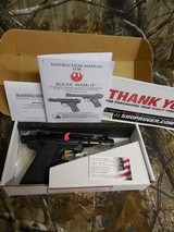 """RUGERMARKIV,22L.R.,# 43927,BALCKANODIZED,22/45LITE,4.4""""BARREL, ADJUSTABLEREARSIGHT,ONE BUTTON TAKEDOWN. FACTORY NEW IN BOX"""