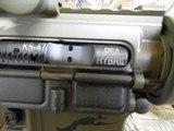 AR-15PSA, CUSTOM,7.62X39,BIG BORE RFILESCOPE 2.5-10X40 RED/GREEN, W/ MIROC RED DOT SIGHT, QUAD RAIL, BI-POD, 2 CAMOMAGS, BAYONET.ALL NEW - 12 of 25