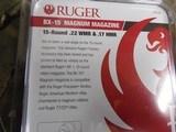 Ruger, BX-15,17 HMR / 22WMR, 15 RoundPolymerBlackFinish - 4 of 15