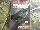 LASERS,LASERMAXFORRUGER10 / 22RIFLES,BATTERYINCLUDED,SHOOTINGDISTANCEOUTTO100 YARDS,FACTORYNEWINBOX - 2 of 15