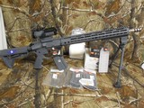 """AR 15458 SOCOM, THIS IS THE ULTINATE AR 15 MADE. ALL NEW AND ALL CUSTOM MADE, UPPER YOURS16"""", 458 SOCOM, S/S, 13"""" ULTRA LIGHT KEYMOD, FA"""