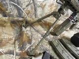 "AR-15CUSTOMP.S.A. 223/5.56 NATO,MILITARY COMOUFLAGE, RED/GREEN SCOPE, BAYONET, 10.5"" BARROL +5""MUZZAY BREAK, SLIDEING STOCK, BI-POD, - 11 of 26"