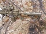 "AR-15CUSTOMP.S.A. 223/5.56 NATO,MILITARY COMOUFLAGE, RED/GREEN SCOPE, BAYONET, 10.5"" BARROL +5""MUZZAY BREAK, SLIDEING STOCK, BI-POD, - 5 of 26"