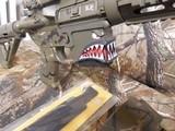 "AR-15CUSTOMP.S.A. 223/5.56 NATO,MILITARY COMOUFLAGE, RED/GREEN SCOPE, BAYONET, 10.5"" BARROL +5""MUZZAY BREAK, SLIDEING STOCK, BI-POD, - 22 of 26"