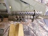 "AR-15CUSTOMP.S.A. 223/5.56 NATO,MILITARY COMOUFLAGE, RED/GREEN SCOPE, BAYONET, 10.5"" BARROL +5""MUZZAY BREAK, SLIDEING STOCK, BI-POD, - 15 of 26"