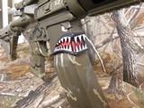 "AR-15CUSTOMP.S.A. 223/5.56 NATO,MILITARY COMOUFLAGE, RED/GREEN SCOPE, BAYONET, 10.5"" BARROL +5""MUZZAY BREAK, SLIDEING STOCK, BI-POD, - 12 of 26"