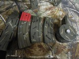 "AR-15CUSTOMP.S.A. 223/5.56 NATO,MILITARY COMOUFLAGE, RED/GREEN SCOPE, BAYONET, 10.5"" BARROL +5""MUZZAY BREAK, SLIDEING STOCK, BI-POD, - 21 of 26"