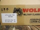 6.5GRENDEL,WOLF100GRAIN,F. M. J.,20ROUNDBOXESOR500ROUNDCASE FACTORYNEWINBOX - 2 of 15
